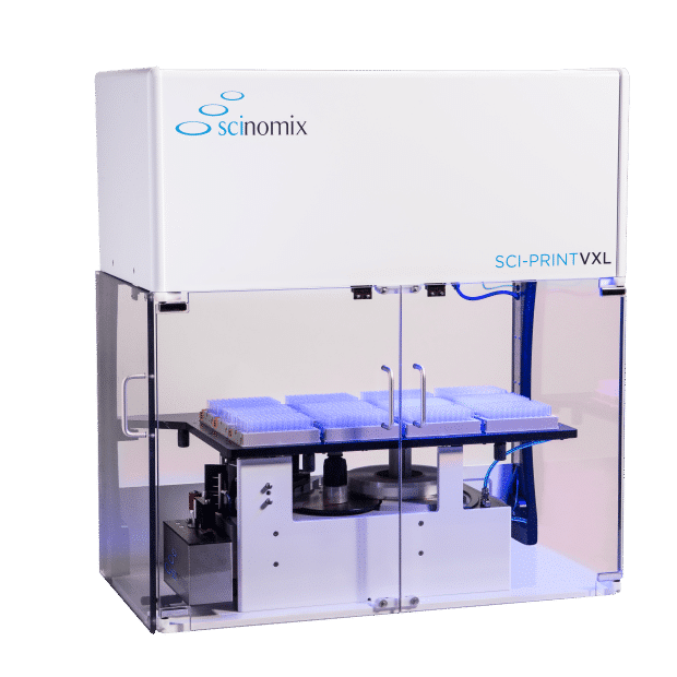 The Sci-Print VXL fully-automated tube labeler by Scinomix