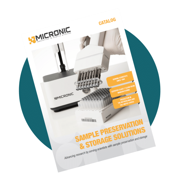 The front cover of the Micronic catalog