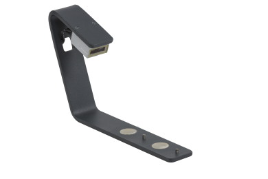 The 1D side barcode reader for the DR500 rack reader by Micronic