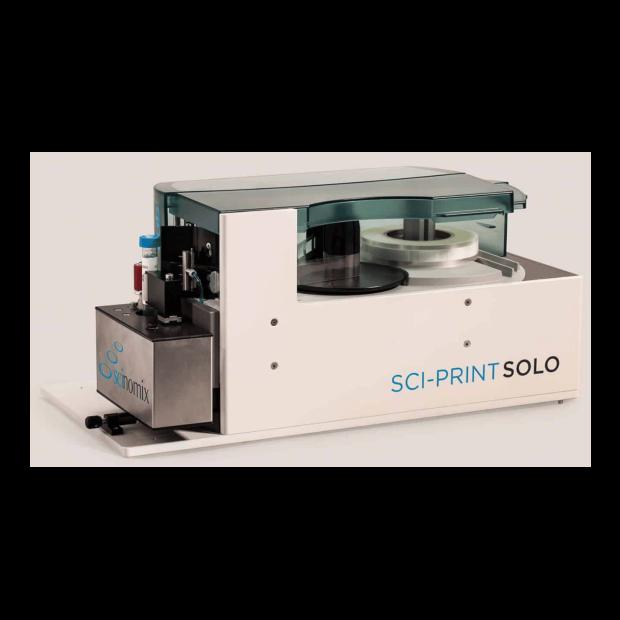 The Sci-Print solo single tube labeler