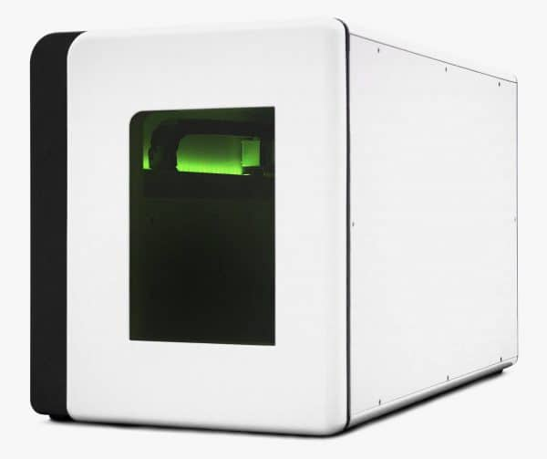 A side view of the AFYS3G Lambda576 Laser Marker
