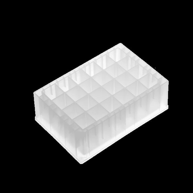 Empty Riplate® Square Wells