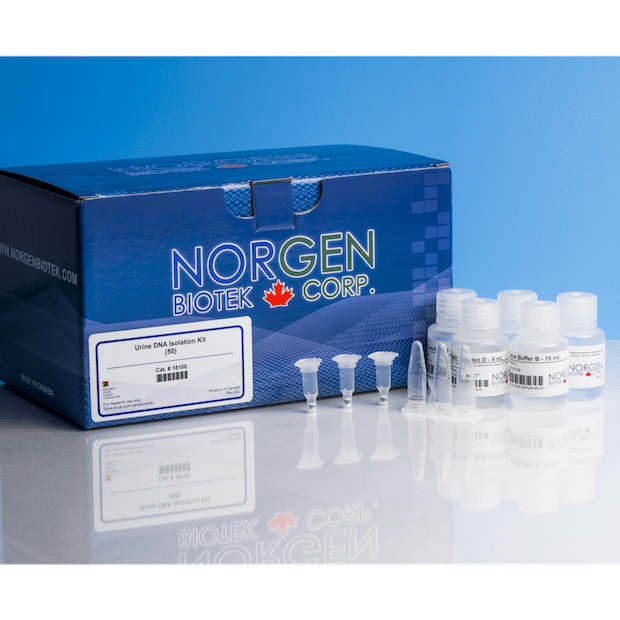 A Urine DNA Purification kit from Norgen Biotek