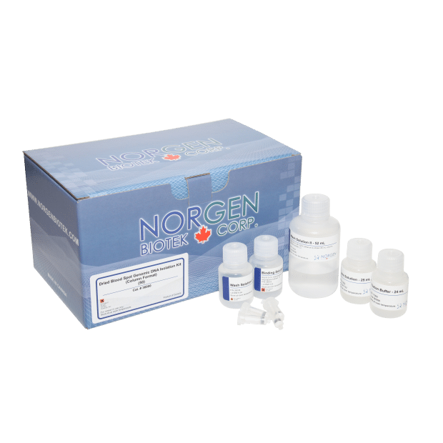 A blood dna isolation kit by Norgen Biotek