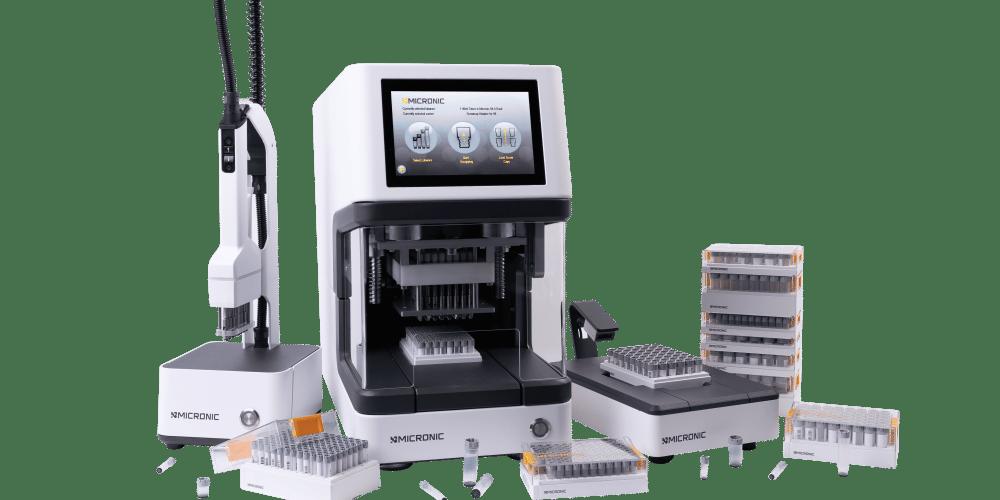 Range of Micronic equipment
